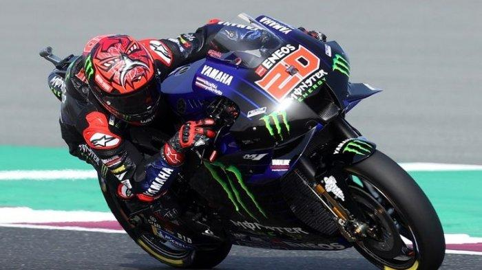 Fabio Quartararo Tercepat di FP3 MotoGP Doha 2021