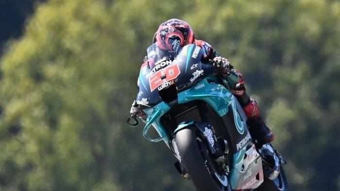 Hasil Kualifikasi MotoGP Aragon 2020, Fabio Quartararo Raih Pole Position
