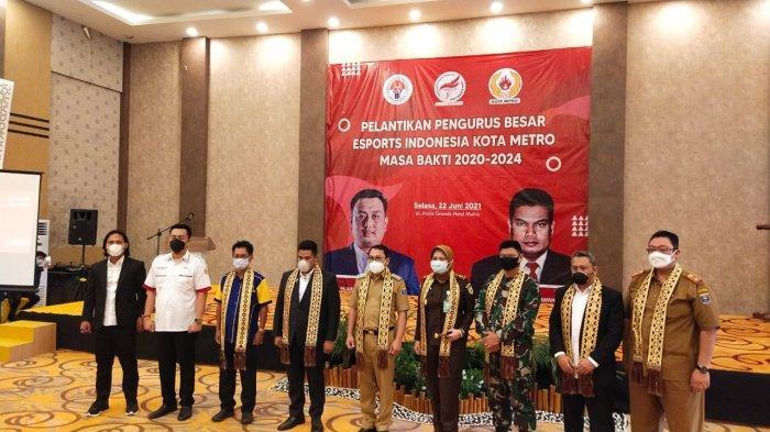 Dilantik Jadi Ketua ESI Metro, Fajar Riatama: Peluang Harumkan Nama Lampung