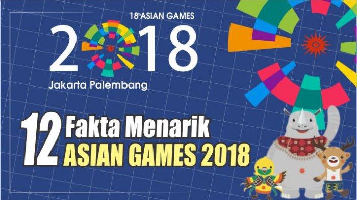 Siaran Langsung Pembukaan Asian Games 2018 di TVRI, TV One dan Metro TV, Ini Susunan Acaranya