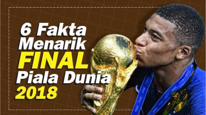 GRAFIS: 6 Fakta Menarik Prancis Juara Piala Dunia 2018