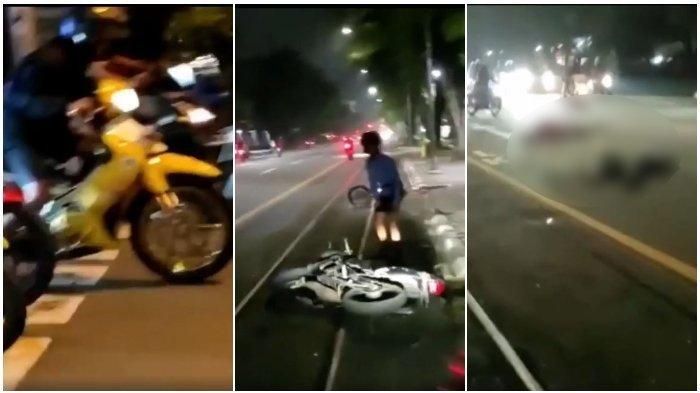 Fakta di Balik Video Viral Balapan Motor yang Berakhir Kecelakaan di Solo