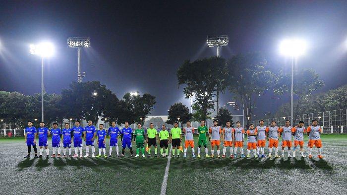 Fans Klub Chelsea, CISC Lampung, Jajal Rumput Senayan Soccer Field Jakarta