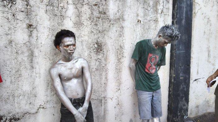 Fenomena Manusia Silver di Bandar Lampung, Ada Uang Setoran ke Bos