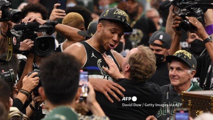 Milwaukee Bucks Juara NBA 2021, Giannis Antetokounmpo Catatkan Rekor di NBA