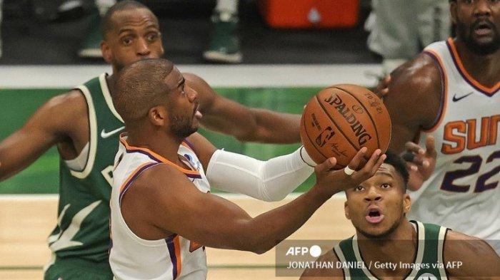JADWAL Suns vs Bucks Final NBA 2021, Chris Paul Dapat Instruksi Hentikan Antetokounmpo
