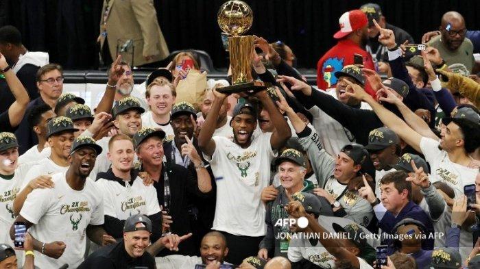 Milwaukee Bucks Juara NBA 2021, Gelar Kedua Setelah Penantian 50 Tahun