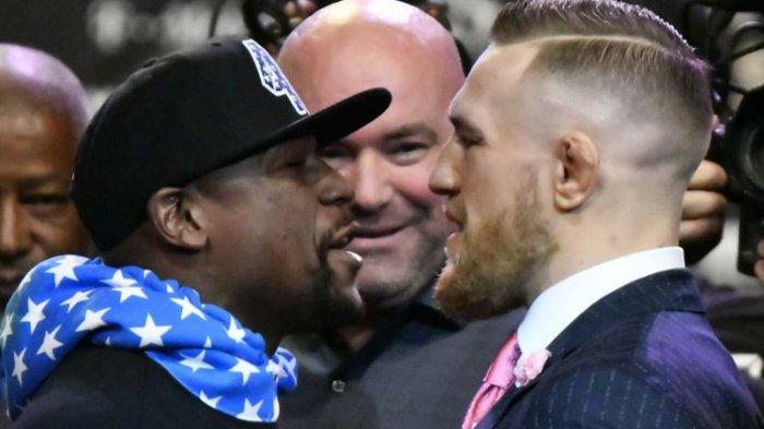 Ini Sesumbar Mayweather Jelang Duel dengan McGregor