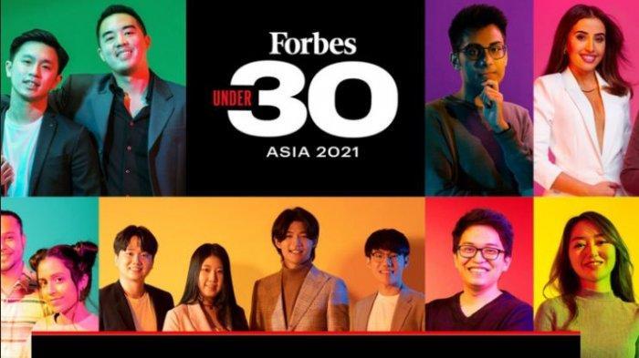 Apa Itu Forbes 30 Under 30, Deretan Anak Muda Indonesia yang Masuk Daftar Forbes 30 Under 30 Asia