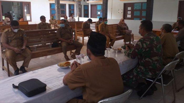 Forkopimcam Melinting Lampung Timur Rakor Evaluasi Penanganan Covid-19