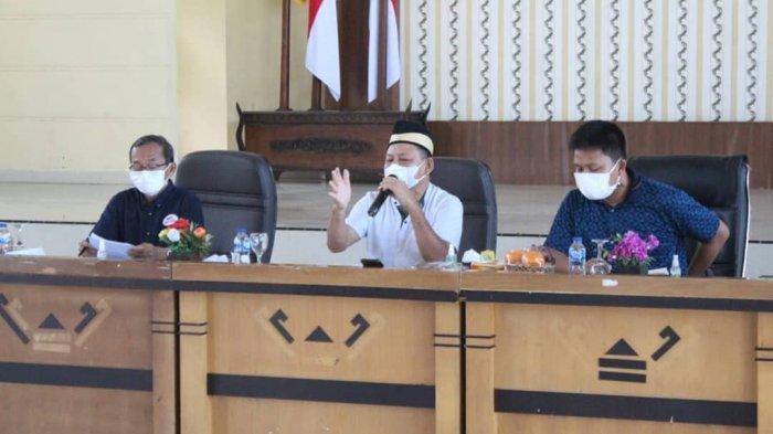 Antisipasi Lonjakan Covid, Bupati Lampung Timur Gelar Rapat dengan Forkopimcam