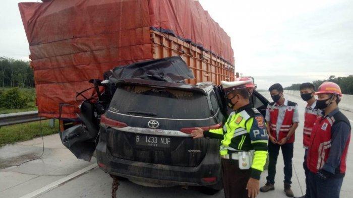 2 Penumpang Fortuner Tewas di Tol Terpeka Lampung adalah Warga Serpong Tangerang