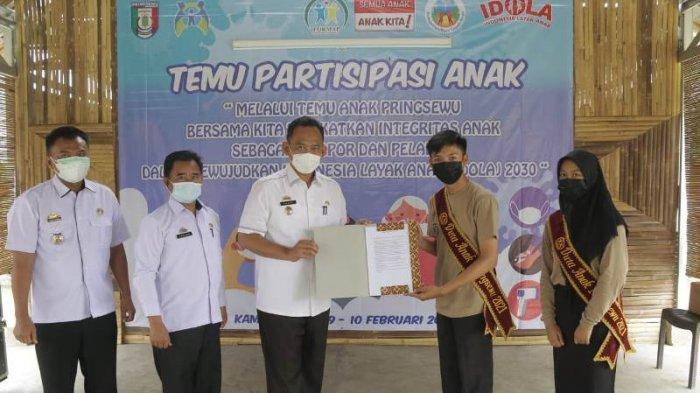 Forum Anak Pringsewu Minta Pemkab Tingkatkan Kapasitas Tenaga Pendidik Bidang IT