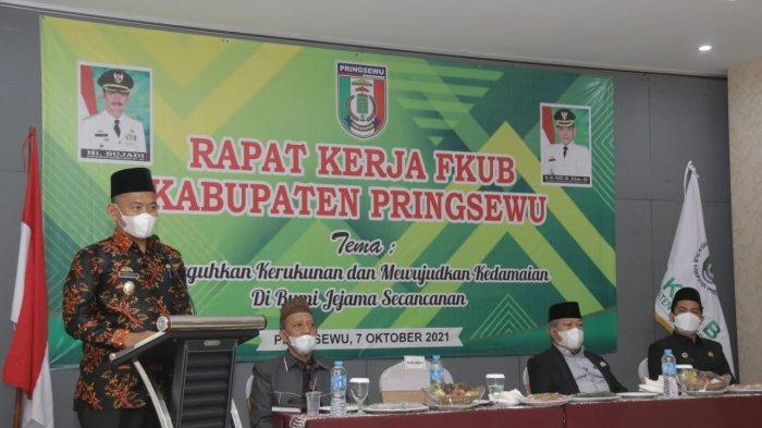 Wabup Pringsewu Lampung Inginkan FKUB Lahirkan Program Persaudaraan Antar Umat Beragama
