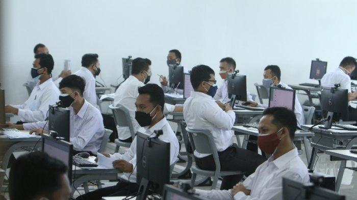 FOTO Peserta CPNS Lampung Selatan Ikuti Test SKD di Kampus Itera