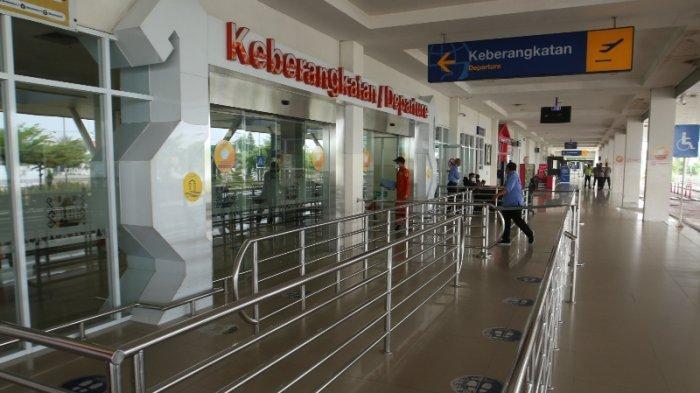 Bandara Radin Inten II Lampung Sepi karena Larangan Mudik dari Pemerintah Pusat