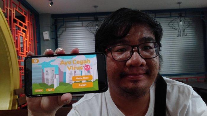 Cerita Warga Bandar Lampung Bikin Game Edukasi dengan Tema Virus Corona Pertama di Indonesia