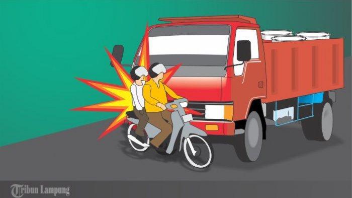 BREAKING NEWS - Kronologi Kecelakaan Maut di Jalinbar Pesawaran, Polisi Amankan Sopir Truk