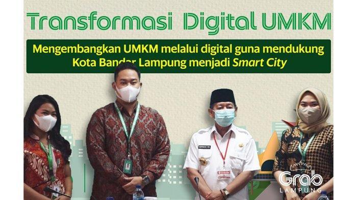 Gagas Transformasi Digital UMKM, Grab Bersinergi dengan Pemerintah Kota Bandar Lampung