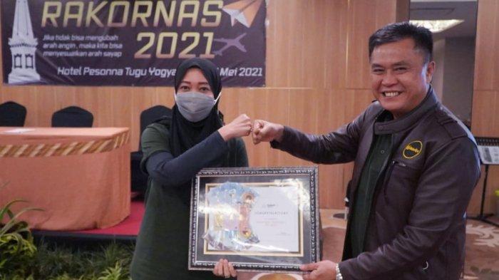 PT Pegadaian Galeri24 Regional III Lampung dan Distro Teluk Betung Jadi Terbaik Nasional