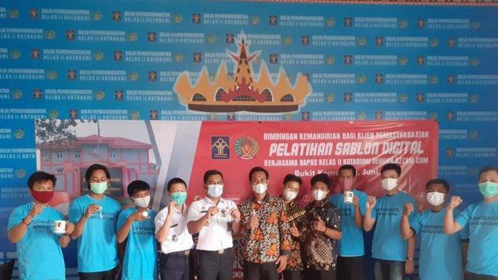 Gandeng Pokmas Lipas dan LPK Azam, Bapas Lampung Utara Gelar Pembinaan Kemandirian