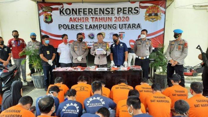 Gangguan Kamtibmas di Lampung Utara Turun Tipis