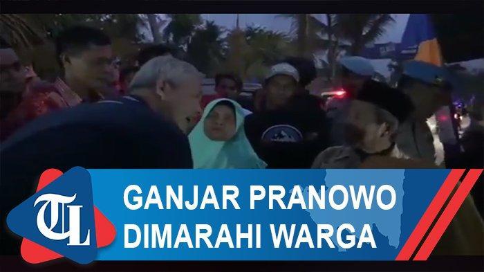 Ganjar Pranowo Dimarahi Warga saat Berkunjung ke Kampung