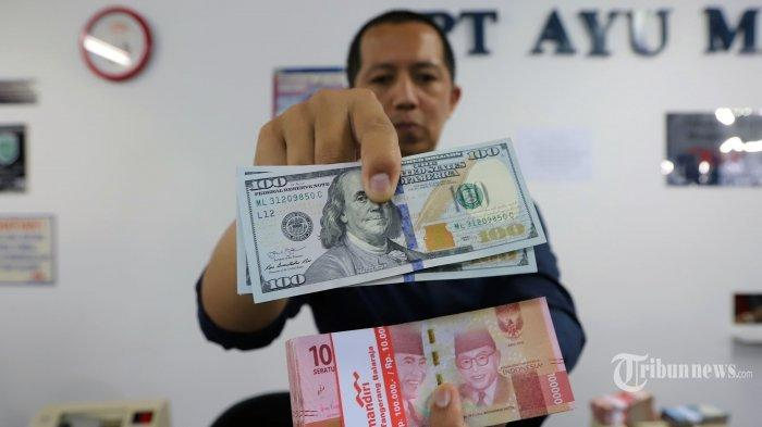 Nilai Tukar Rupiah terhadap Dolar AS Kamis 10 September 2020