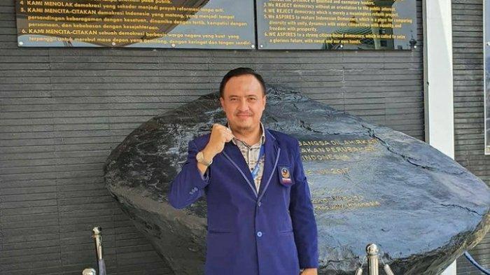 Garinca Reza Pahlevi Didaulat Jadi Plt Ketua DPD NasDem Metro
