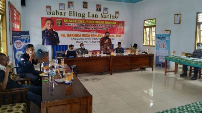Garinca Sosialisasi Perda Perlindungan dan Pemberdayaan UMKM di Lampung Timur