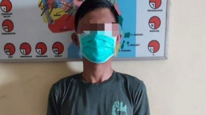 Gasak 2 Unit HP di Rumah Korban, Warga Penengahan Lampung Selatan Diciduk Polisi