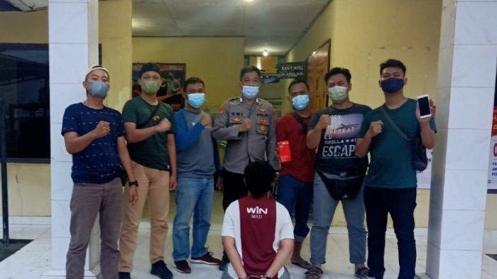 Gasak Handphone, Pemuda Asal Tulangbawang Lampung Dibekuk