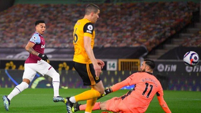 Hasil Liga Inggris, Jesse Lingard Bawa West Ham ke Posisi Liga Champions Usai Bungkam Wolves