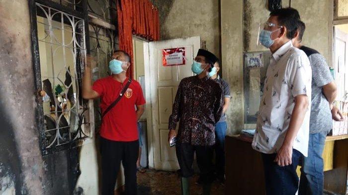 Gedung Farmasi Diskes Lampung Tengah Terbakar, Pegawai Diimbau Mengecek Sebelum Meninggalkan Ruangan