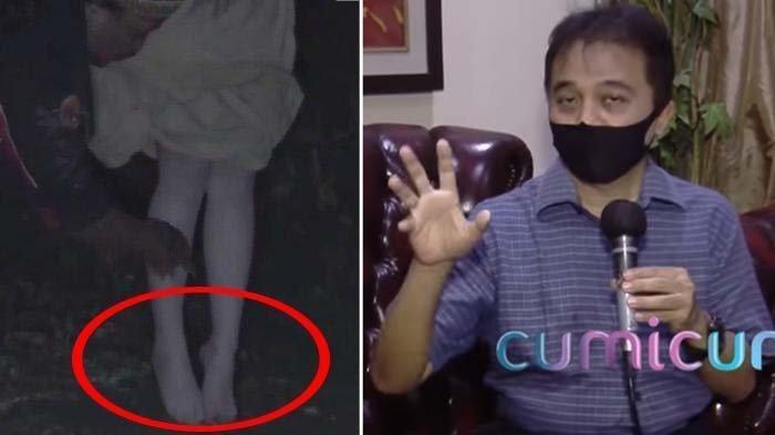 Viral Video Paranormal Berhasil Tangkap dan Perlihatkan Kaki Mulus Kuntilanak, Begini Kata Roy Suryo