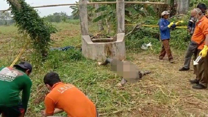 BREAKING NEWS Geger Penemuan Mayat Perempuan Dalam Sumur di Way Pengubuan Lampung Tengah