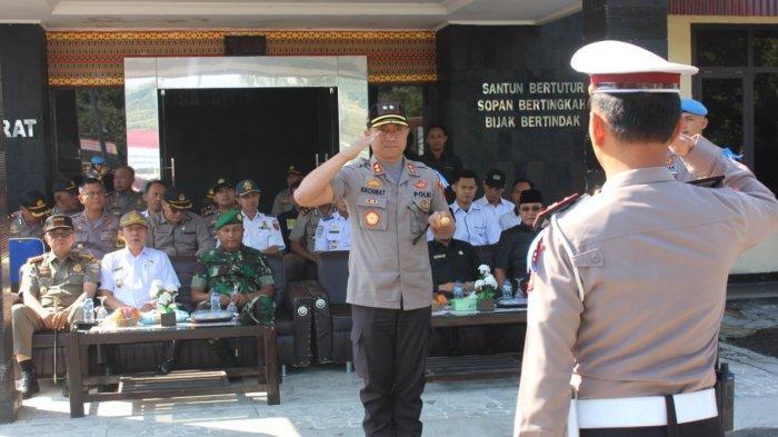 Gelar Operasi Zebra Krakatau 2019 Selama 14 Hari, Kapolres Lampung Barat Tekankan Hal Ini