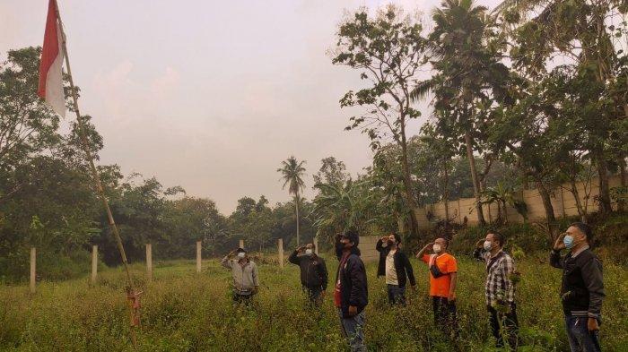 Gelar Upacara HUT ke-76 RI di Kebun, KNPI Bandar Lampung: Sederhana Namun Bermakna