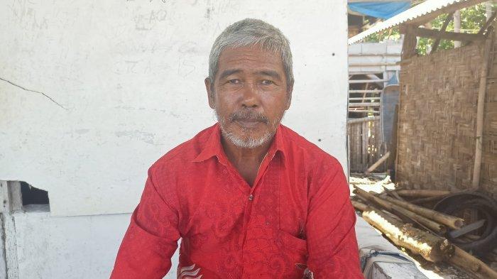 Amran Hadi, Ketua Kelompok Budi Daya Kerang Hijau Sinar Semendo 1 Desa Legundi.