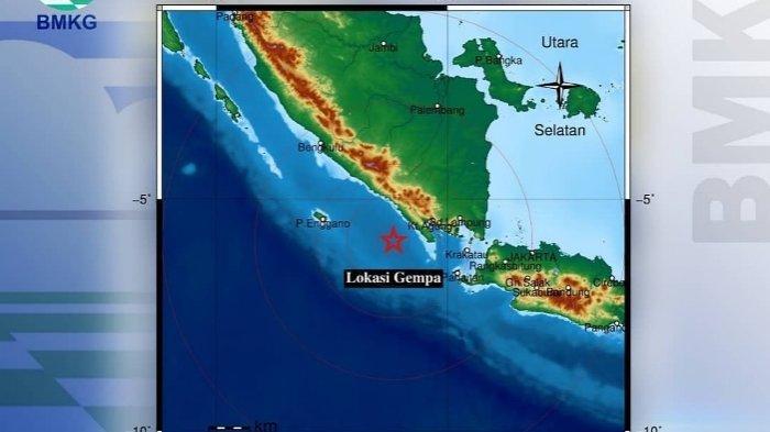 Gempa Bumi 3,8 Magnitude Guncang Pesisir Barat dengan Kedalaman 27 Km