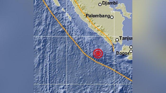 Gempa Bumi 5,3 SR Guncang Pesisir Barat, Warga Kaget Sampai Keluar Rumah