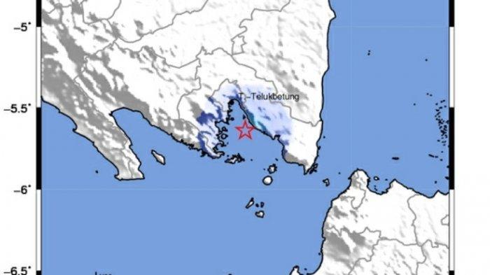 Gempa Bumi Tektonik 3,7 SR Guncang Lampung Selatan, Warga: Getaran Seperti Ada Truk Lewat