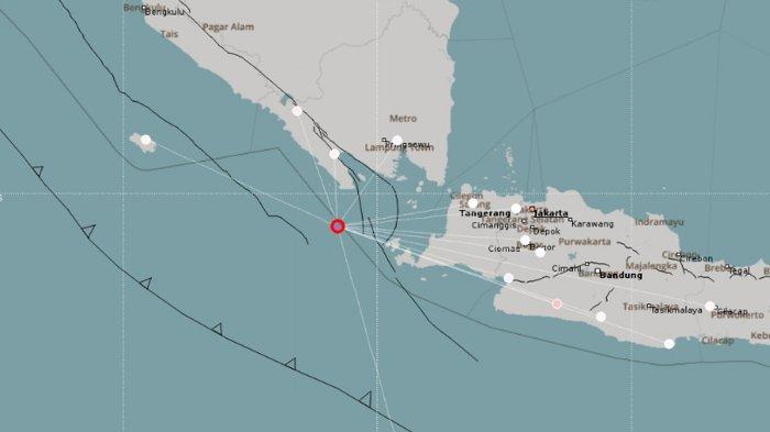 Monitoring BMKG Belum Menunjukkan Adanya Gempa Susulan Akibat dari Gempa di Tanggamus