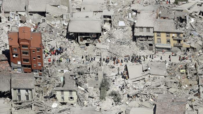 Korban Tewas akibat Gempa di Italia Jadi 247 Orang