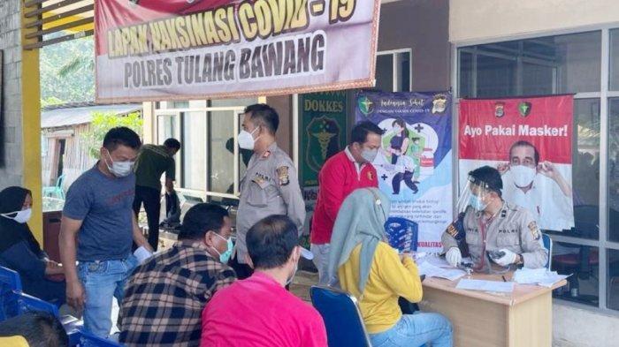 Polres Tuba Lampung Buka Gerai Vaksin Covid-19 Gratis untuk Masyarakat
