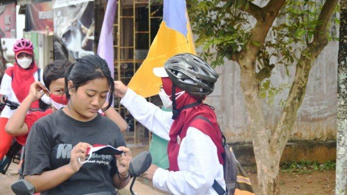 Ketua TP PKK Metro Lampung Ajak Warga Budayakan Pakai Masker