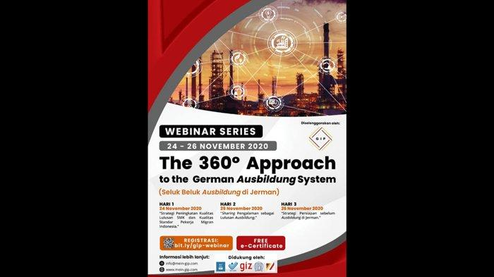 Germany Indonesia Professionals Gelar Webinar Series