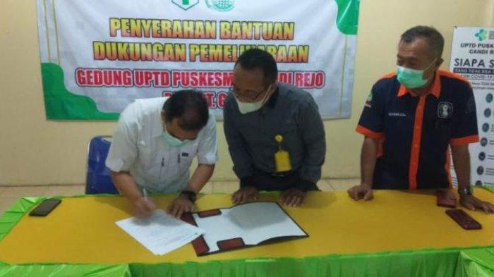 GGP Bantu Dana Rehabilitasi Gedung UPTD Puskesmas Candi Rejo