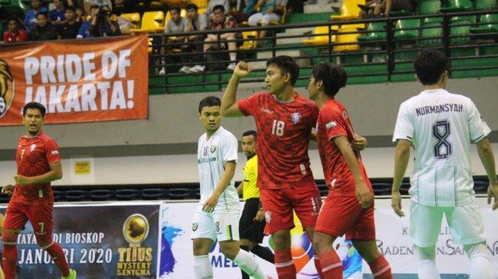 Kalah 2 Kali, Giga FC Tersendat di Peringkat Empat Pro Futsal League 2020