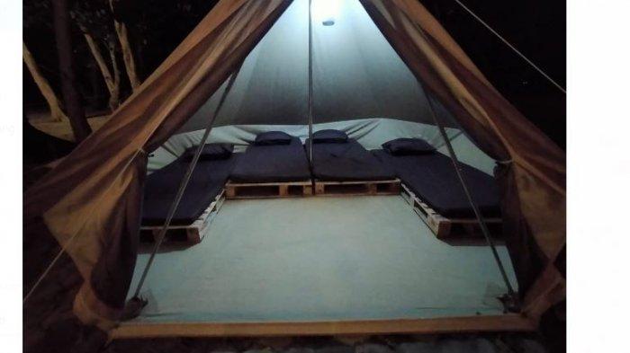 Tenda besar untuk 4 orang dewasa
